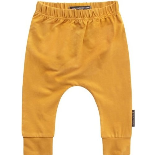 YOUR WISHES Your Wishes meisjes broek solid ochre