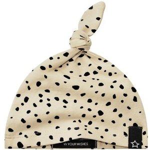 YOUR WISHES meisjes hoofdband cheetah nude