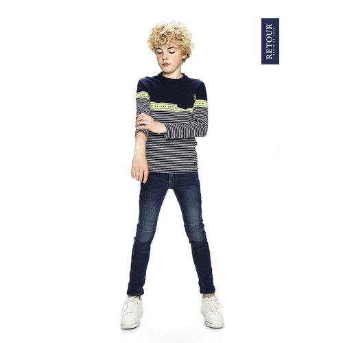 RETOUR DENIM DE LUXE Retour Jeans jongens trui dark navy alonzo