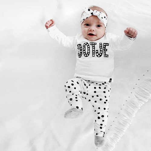 YOUR WISHES Your Wishes meisjes legging off-white spots