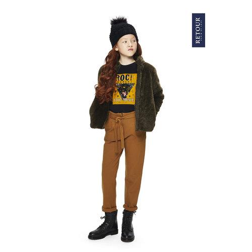 RETOUR DENIM DE LUXE Retour Jeans meisjes broek caramel aranka