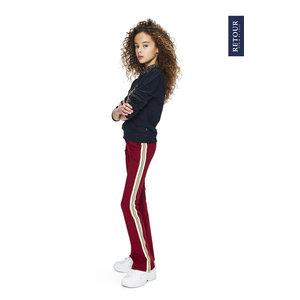 RETOUR DENIM DE LUXE Retour Jeans meisjes broek dark red blaire