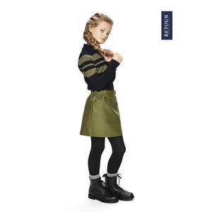 RETOUR DENIM DE LUXE Retour Jeans meisjes trui black onorah