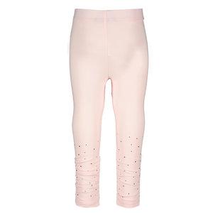 LE CHIC meisjes legging pretty in pink glitter & gathering