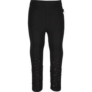 LE CHIC meisjes legging black glitter & gathering