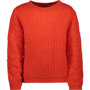 LIKE FLO meisjes sweater pumpkin
