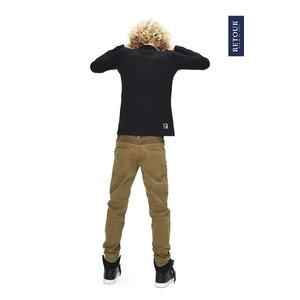 RETOUR DENIM DE LUXE Retour Jeans jongens longsleeve black harvey