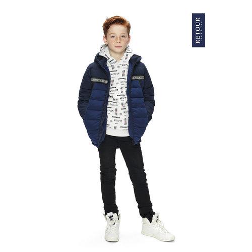 RETOUR DENIM DE LUXE Retour Jeans jongens jas dark navy george