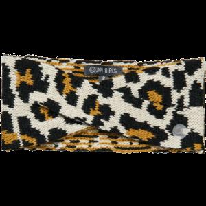 Quapi meisjes haarband beige leopard dylena