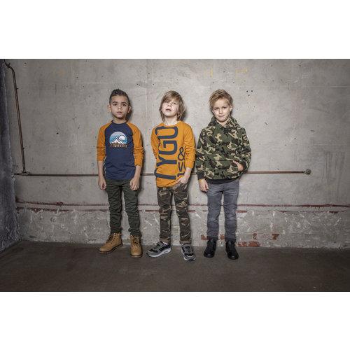 TYGO & VITO Tygo & Vito jongens longsleeve ocre caution