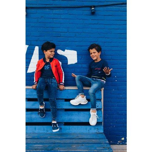 Quapi Quapi jongens joggingbroek dark blue dexx