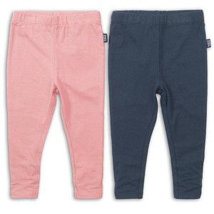 KOKO NOKO meisjes 2-delige set legging pink + navy