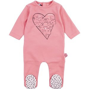 ZERO2THREE meisjes pyjama peach blossom