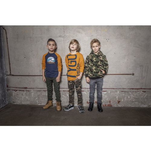 TYGO & VITO Tygo & Vito jongens broek skinny m. grey denim
