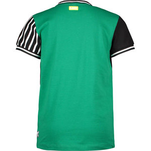B.NOSY B.Nosy jongens t-shirt jade green b. fast