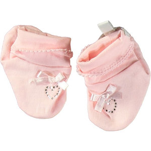 LE CHIC meisjes booties pretty in pink