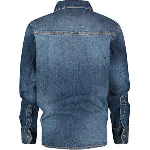 VINGINO Vingino jongens spijkerblouse blue vintage luuk