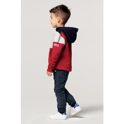 NOPPIES NOPPIES jongens sweater scarlet sage