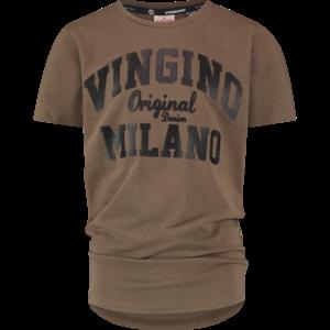 VINGINO jongens t-shirt army green wood