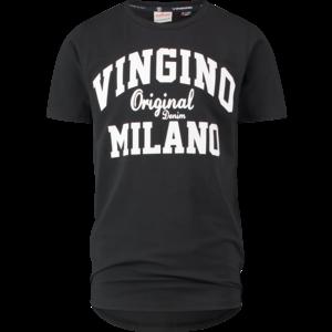 VINGINO jongens t-shirt deep black
