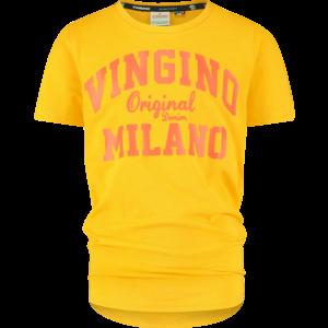 VINGINO jongens t-shirt gold yellow