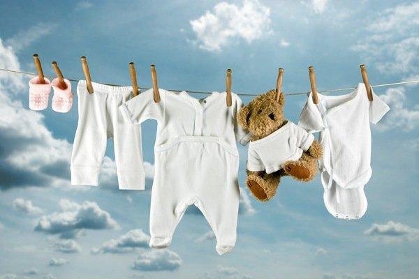 Baby- en kinderkleding was wijsheden