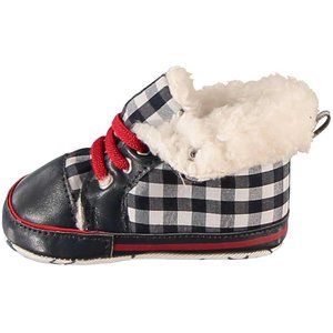 APOLLO Sneakers stars and stripes gevoerd met rood randje