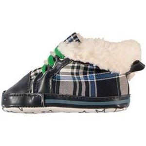 APOLLO Sneakers stars and stripes gevoerd met groen randje