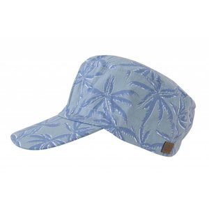 MELTON jungle petje blauw