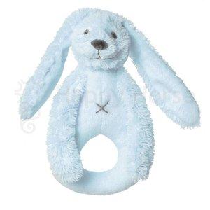 HAPPY HORSE Rabbit richie rattle babyblauw