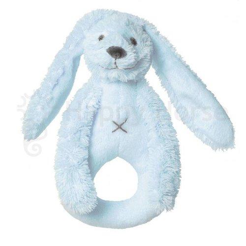 HAPPY HORSE Happy horse Rabbit richie rattle babyblauw