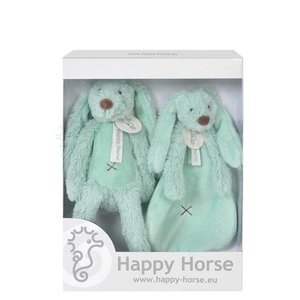 HAPPY HORSE Rabbit richie giftbox mintgroen