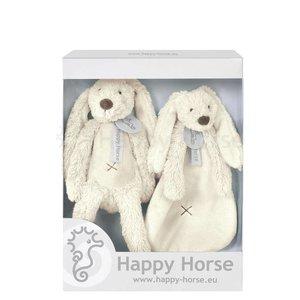 HAPPY HORSE Rabbit richie giftbox ivoor - off white