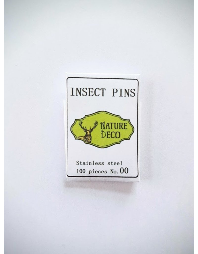 . Insect pins stainless steel 00