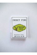 . Insect pins stainless steel 0