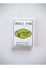 . Insect pins stainless steel 1