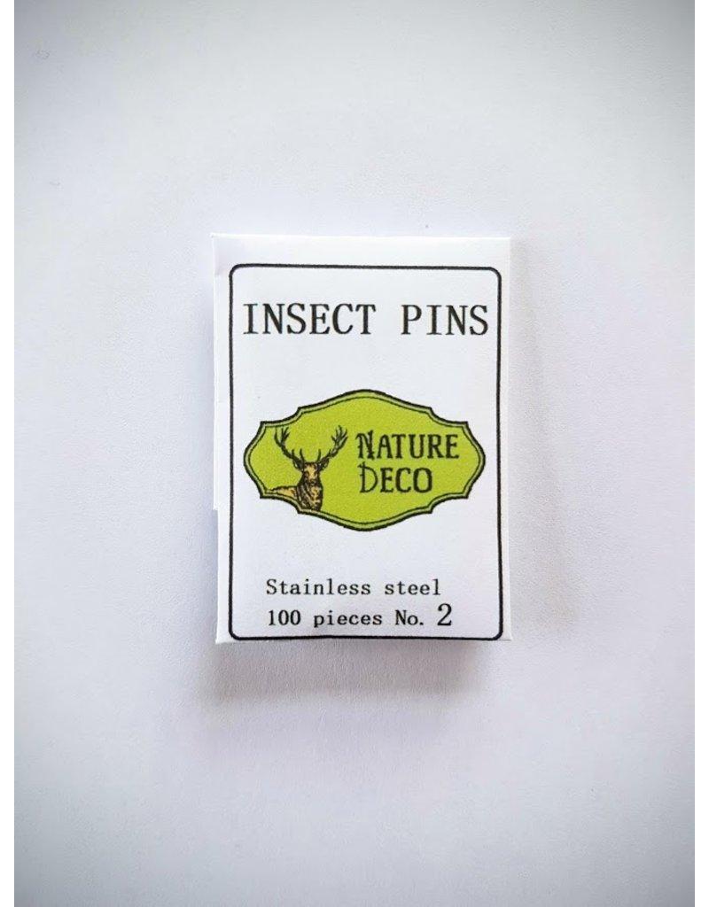 . Insecten speldjes  RVS maat 2