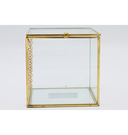 . Display box gold  large