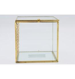 . Vitrine box goud large