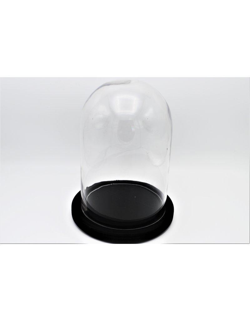. Stolp zwart groot 21x21x26 cm (LxBxH)