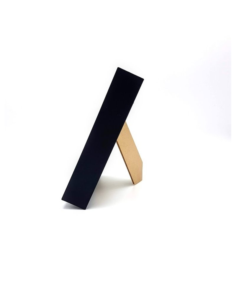 Nature Deco Walking stick in luxury 3D frame 17  x17cm (female)