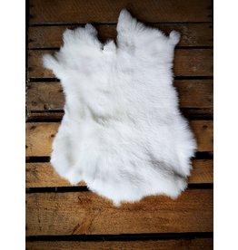 . Rabbit skin White