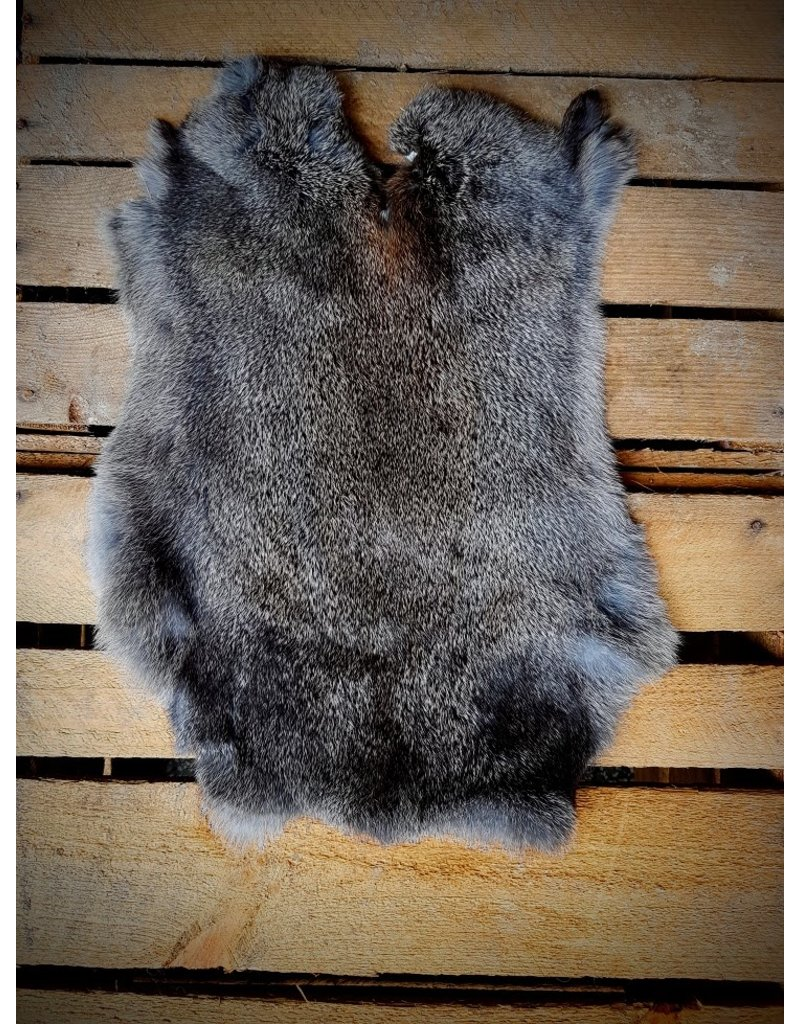 . Rabbit skin Dark wild color