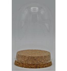 . Glass dome small cork