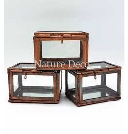 . Display box bronze small