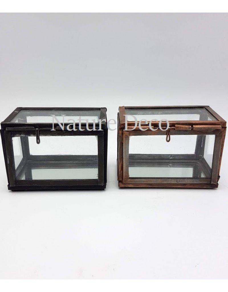 . Display box bronze small