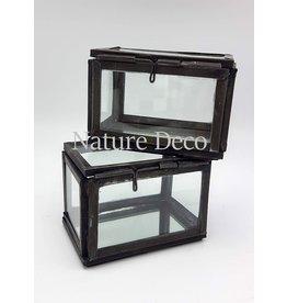 . Vitrine box zwart small
