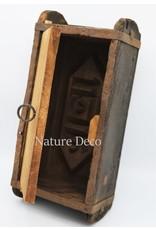 . Brick mold cabinet