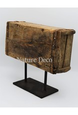 . Brick mold on stand