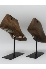 . Vintage shoe mold on stand